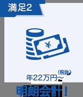 年12万円(税抜)~ 明朗会計!